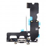 iPartsBuy for iPhone 7 Plus Charging Port Flex Cable(Black)