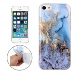 For iPhone 5C Marble Pattern Soft TPU Protective Case