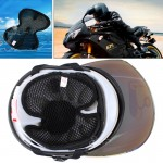 Motorcycle Helmet Breathable Heat Insulation Protector Mat, Size: 26*20cm(Random Color Delivery)