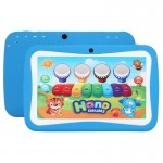 Kids Education Tablet PC, 7.0 inch, 512MB+8GB, Android 5.1 RK3126 Quad Core 1.3GHz, WiFi, TF Card up to 32GB, Dual Camera(Blue)