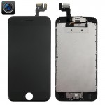 iPartsBuy 4 in 1 for iPhone 6s (Front Camera + LCD + Frame + Touch Pad) Digitizer Assembly(Black)