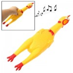 32cm Interesting Toy Stress-Relieved Screaming Hen Shrilling Chicken Relief Squeezed Gift