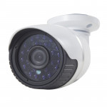 H.264 Wired Infrared Waterproof / Vandalproof IP Camera, 1 / 3 inch 4mm 1.3 Mega Pixels Fixed Lens, Motion Detection / Privacy M