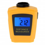 Mini Ultrasonic Distance Measurer with Laser Pointer
