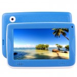 Astar Kids Education Tablet, 7.0 inch, 512MB+4GB, Android 4.4 Allwinner A33 Quad Core, with Silicone Case(Blue)
