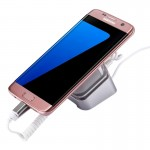 Mobile Phone Anti-theft Alarm Display Stand for Samsung Galaxy, Huawei, HTC, LG, Google, Xiaomi and the Smartphones with Micro U