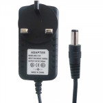 UK Plug AC Adapter 12V 2000mA for CCD Cameras(Black)