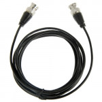 BNC Male to BNC Male Cable for Surveillance Camera, Length: 3m