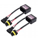 2 PCS 35W Car Auto Canbus Warning Error-free HID Decoder Adapter, DC 12V