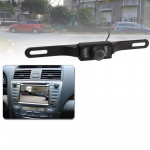 LED Sensor Car Rear View Camera, Support Color Lens / 135 Degree Viewable / Waterproof & Night Sensor Function (E300)(Black)