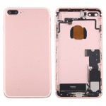 iPartsBuy for iPhone 7 Plus Battery Back Cover Assembly with Card Tray(Rose Gold)