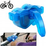 Bicycle Chain Cleaner Cycling Bike Machine Brushes Scrubber Wash Tool Kit Mountaineer Bicycle Chain Cleaner Tool Kits(Blue)