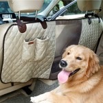 Deluxe Travel Pet Dog Car Seat Fence Safety Barrier Pet Fence Rear Row Seat Safety Isolation Net Protection, Size: 124 x 46 x 31