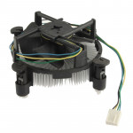 775 CPU Short Sleeve Bearing Cooling Fan, 4-pin