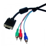 VGA to RGB Cable, Length: 1.5M