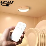 CL037 0.5W LED NightLight Infra-red Remote Control USB Charging Bedroom Wall NightLight, Remote Control Dstance: 3-5m