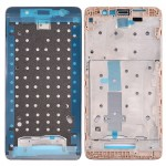 iPartsBuy for Xiaomi Redmi Note 3 Front Housing LCD Frame Bezel Plate(Gold)
