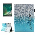 For iPad Pro 10.5 inch Smile Pattern Horizontal Flip Leather Protective Case with Holder & Card Slots & Wallet & Pen Slot &Sleep