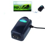 SOBO SB-748 8W Double Outlets Adjustable Flow Silent Aquarium Air Pump Fish Tank Oxygen Air Pump