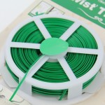 50m Gardening Accessories Tool Package Plastic Flower Wood Tie Line Twist Tie Reel Plant Tie-Line Spool with a Cutter