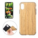 For iPhone 8 Dalbergia Cochinchinensis Wood Texture TPU Shockproof Protective Back Cover Case,Small Quantity Recommended Before