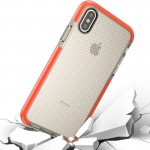 For iPhone 8 Basketball Texture Anti-collision TPU Protective Case, Small Quantity Recommended Before iPhone 8 Launching (Orange