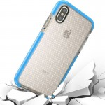 For iPhone 8 Basketball Texture Anti-collision TPU Protective Case, Small Quantity Recommended Before iPhone 8 Launching (Blue)