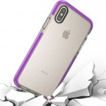 For iPhone 8 Basketball Texture Anti-collision TPU Protective Case, Small Quantity Recommended Before iPhone 8 Launching (Purple