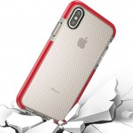 For iPhone 8 Basketball Texture Anti-collision TPU Protective Case, Small Quantity Recommended Before iPhone 8 Launching (Red)