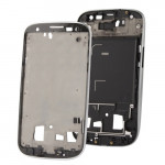 iPartsBuy 2 in 1 for Samsung Galaxy S III / i9300 (Original LCD Middle Board + Original Front Chassis)(Silver)