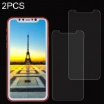 2 PCS for iPhone 8 0.26mm 9H Surface Hardness Explosion-proof Non-full Screen Tempered Glass Screen Film, Small Quantity Recomme