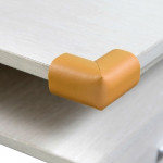 4 PCS Extra Thick Baby Safe Cushion Protector, Table Corner Guard (Random Color Delivery)