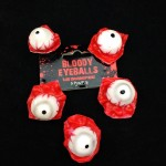 5 PCS Halloween Horror Props April Fool Day Party Prop Body Parts Decoration Bloody Eye Balls