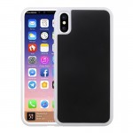 For iPhone 8 TPU + PC Anti-Gravity Dropproof Protective Back Cover Case(White)