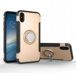 For iPhone 8 Magnetic 360 Degree Rotation Ring Armor Protective Case, Small Quantity Recommended Before iPhone 8 Launching(Gold)