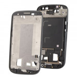 iPartsBuy 2 in 1 for Samsung Galaxy S III / i9300 (Original LCD Middle Board + Original Front Chassis)(Black)