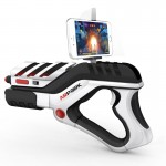 Gaming A8 AR Gun Shaped sans fil contrôleur de jeu Bluetooth avec Phone Clip Android / iOS Devices PC - wewoo.fr