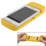 Film protecteur écran jaune pour iPhone 5 et 5C 5S, 4 4S, Samsung Galaxy S IV / i9500, Galaxy Note II / N7100, Galaxy S III /...