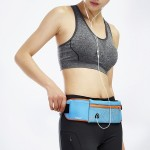 Large Capacity Outdoor Sports Jogging Gym Waist Pack(Blue)