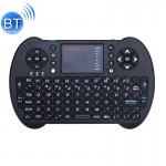 VIBOTON S501 2.4GHz Mini Wireless Bluetooth Full QWERTY Keyboard with Touchpad & Multimedia Control for Laptop, Desktop Computer