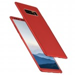 For Samsung Galaxy Note 8 360 Degree Full Coverage Protective Case Back Cover(Red)