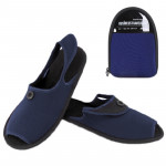 Outdoor Folding Portable Slippers, Size: L(Blue)