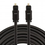 EMK 8m OD4.0mm Toslink Male to Male Digital Optical Audio Cable
