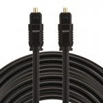 EMK 10m OD4.0mm Toslink Male to Male Digital Optical Audio Cable