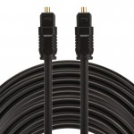 EMK 15m OD4.0mm Toslink Male to Male Digital Optical Audio Cable