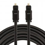 EMK 5m OD4.0mm Toslink Male to Male Digital Optical Audio Cable