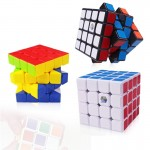 Kirin 4 x 4 x 4 Brain Speed Puzzle Magic Cube Toy,, Random Color Delivery