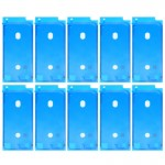 10 PCS iPartsBuy for iPhone 8 LCD Frame Bezel Adhesive (White)