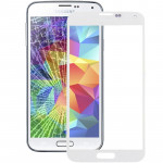 Front Screen Outer Glass Lens for Samsung Galaxy S5 / G900(White)