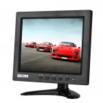 ESCAM T08 8 inch TFT LCD 1024x768 Monitor with VGA & HDMI & AV & BNC & USB for PC CCTV Security